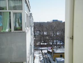 Photo: bright sunny morning.