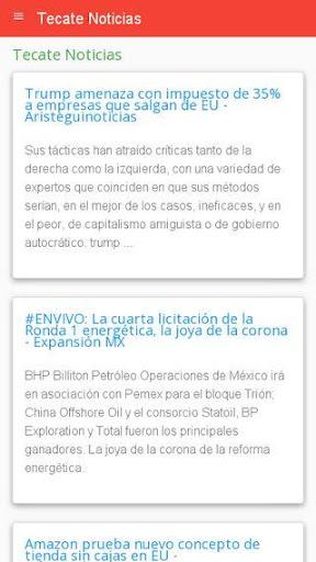 Noticias Tecate  screenshots 2