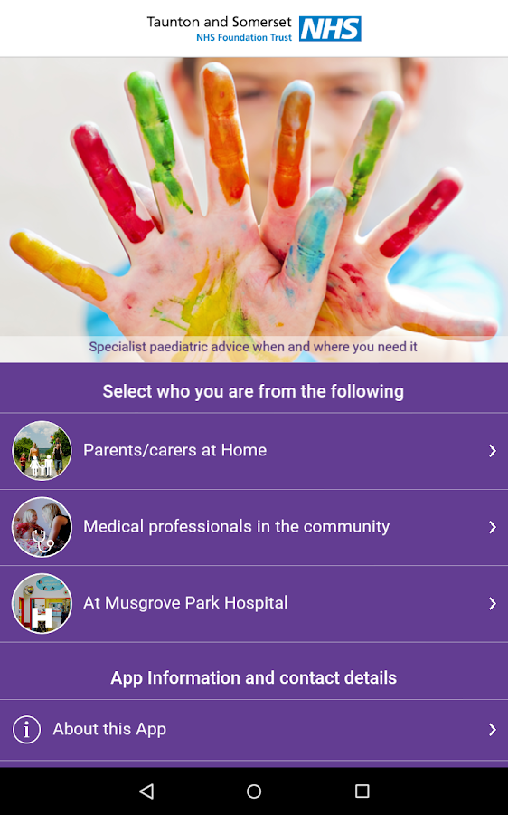 HANDi Paediatric- screenshot
