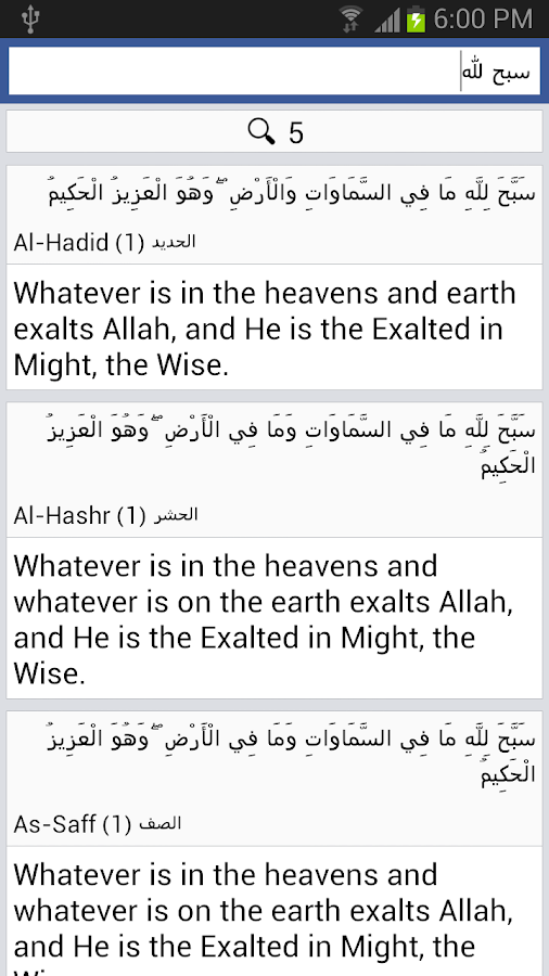 Quran - English- screenshot