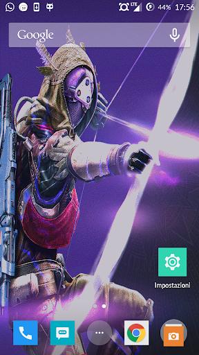 Destiny Hunter Live Wallpaper