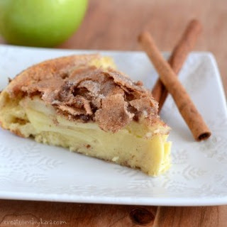 Cinnamon Apple Dutch Baby Pancake