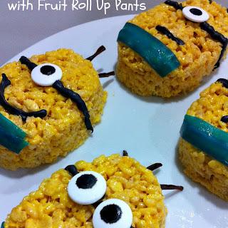Minion Rice Krispies Treats Fun Food Idea.