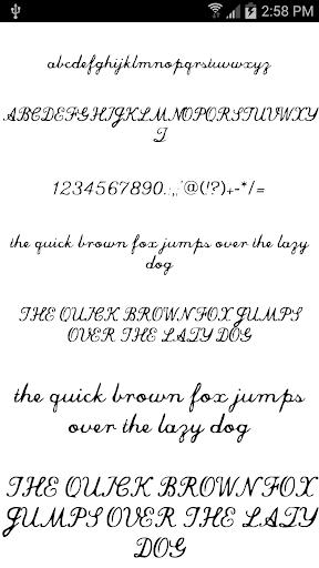 Fonts for FlipFont Love Fonts 4.0.4 screenshots 8