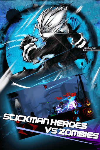 Zombie Avengers:Stickman game for Android screenshot