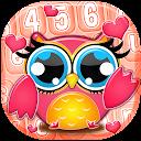 Cute Owl Emoji Keyboard APK