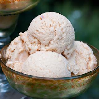 Brandied Peach Ice Cream