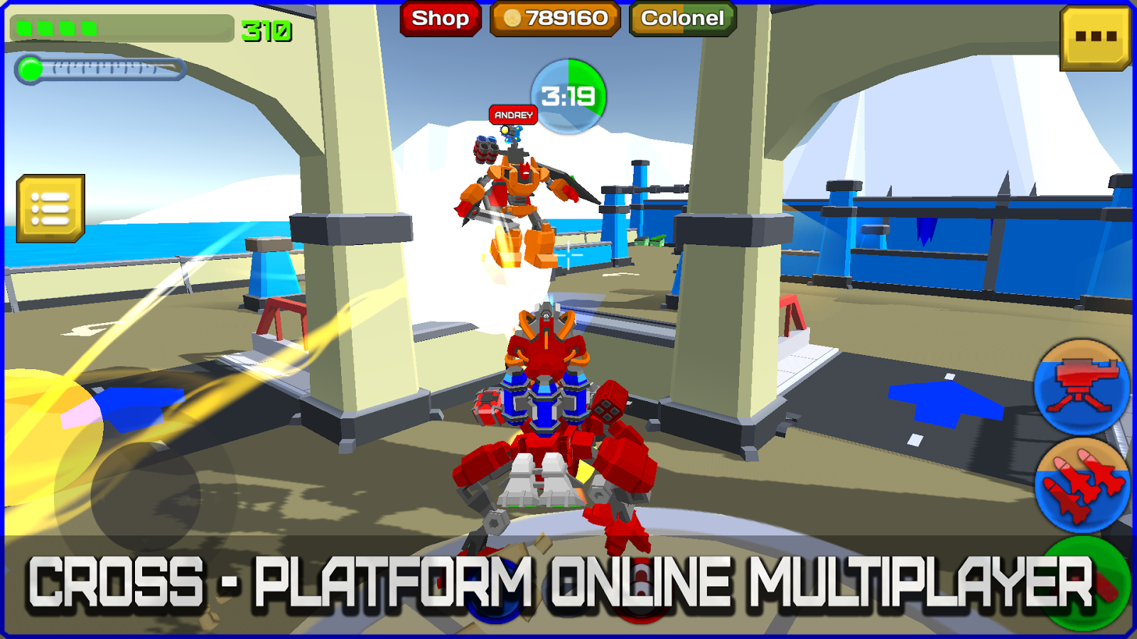 Armored Squad: Mechs vs Robots- screenshot