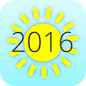 Summer 2016 Countdown icon