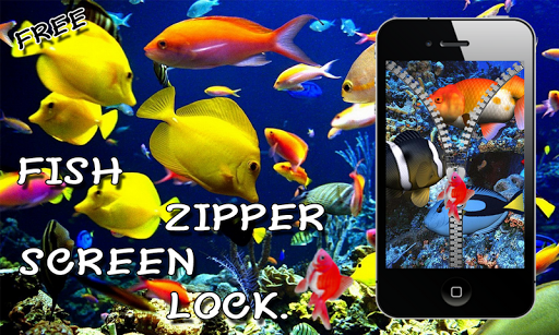 Aquarium Fish Zip Lock Screen