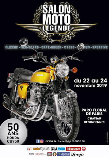 Salon Moto Legende 2019