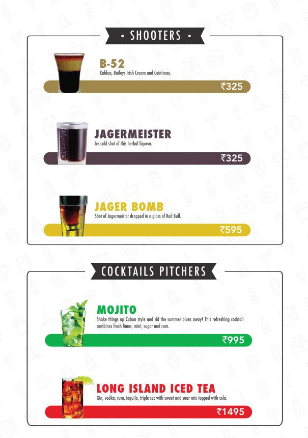 The Beer Cafe menu 18