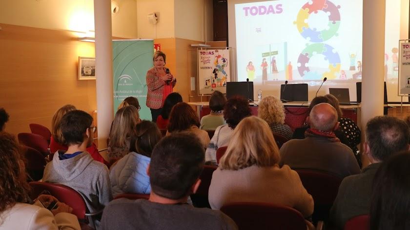 Acto del IAM en Almería.