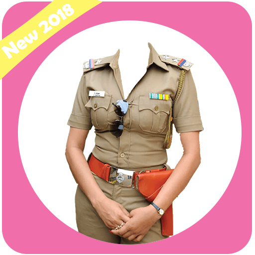Police Women Suit : Photo Suit Editor