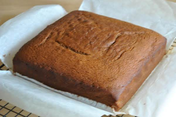 Yummy Gingerbread Goodness! The Edges Look Like They're Burned, But They're Not, That's Just A Rich Brown Color.