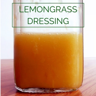 Paleo Lemongrass Salad Dressing