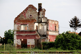 Photo: Day 77 - Bombed House in Vukovar