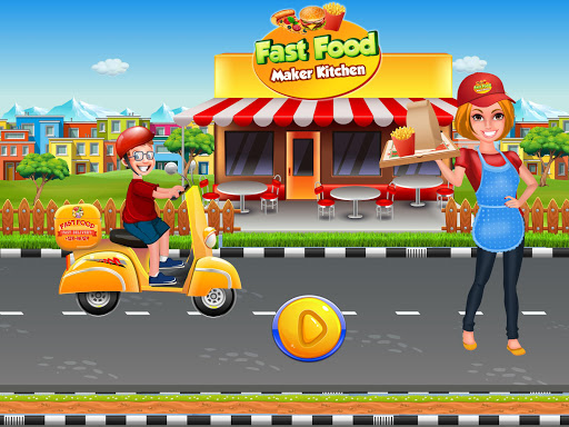 Fast Food Maker Kitchen : Burger Pizza Deliveryu00a0 1.0.1 screenshots 17