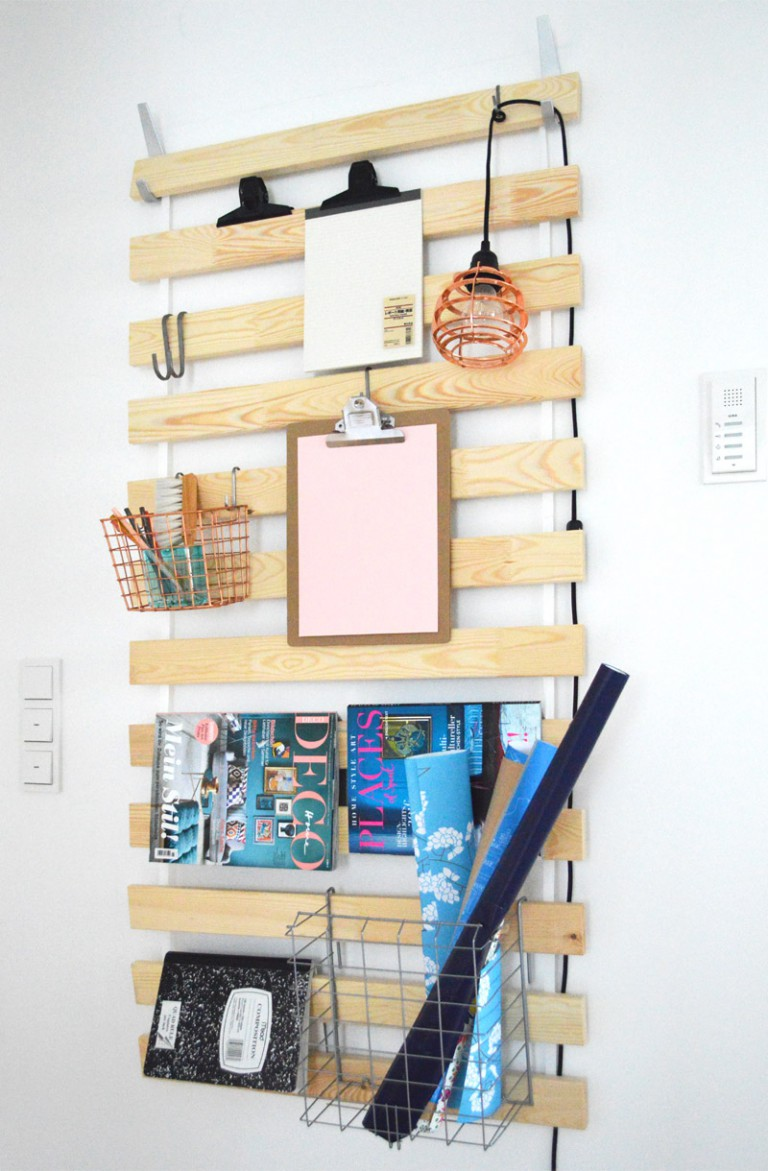 Repurpose Bed Slats: 20 Cheap IKEA Hacks For The Home will help you save maney and transform your space.