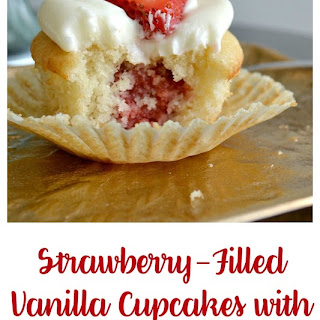 Vanilla Cupcakes With Cream Cheese Filling Recipes.