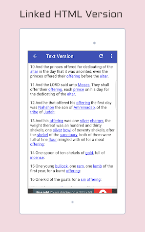 King James Bible - KJV Audio Screenshot