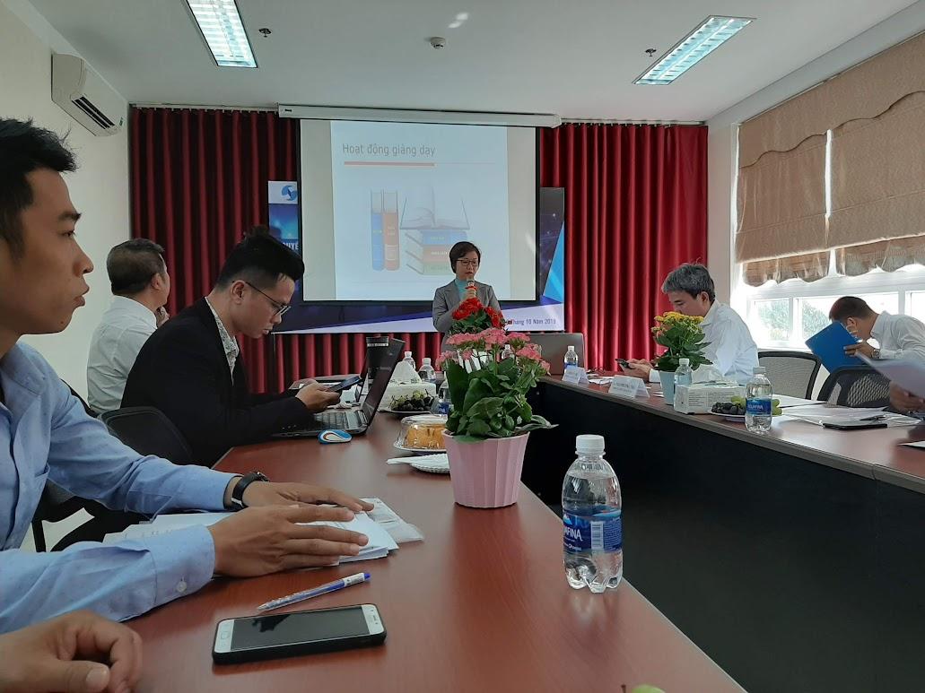 ThS. Ngô Phương Trà - phụ trách VPĐD cục sở hữu trí tuệ tại Đà Nẵng