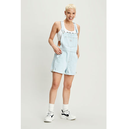 Levi's Vintage shortalls caught napping