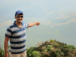 Photo: That's the forest gate at Somavarpet from where we climbed to the peak of Kumara Parvata