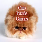 Cats Puzzle Games For Kids