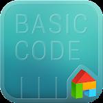 Basic code LINE Launcher theme Icon