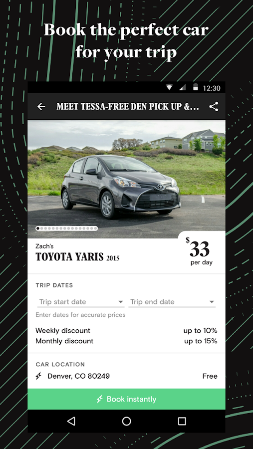 Turo - Rent Better Cars- screenshot