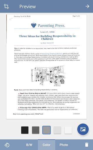 TurboScan: scan documents & receipts in PDF screenshot