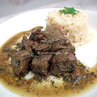 Beef Liver With Sauce Recipes.