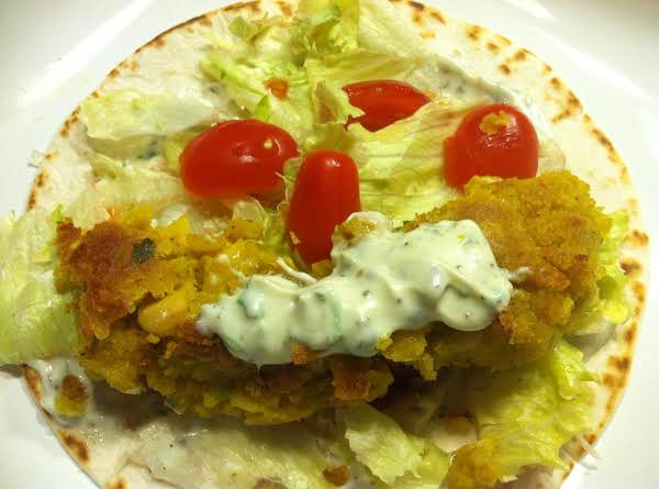 White Bean Falafels With Chimchurri Yogurt Sauce Recipe
