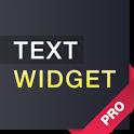 Text widget (donate) icon
