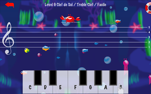 Music Crab-Learn to read music notes- screenshot thumbnail