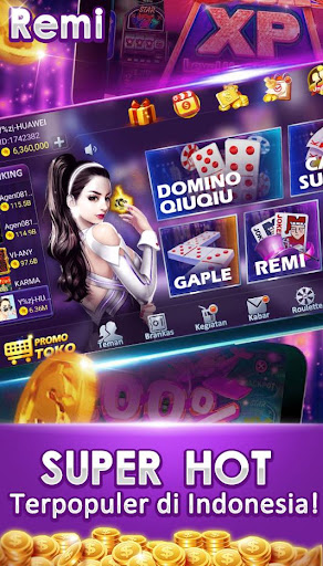 remi joker poker capsa susun Domino qq gaple pulsa 1.4.3 Screenshots 4