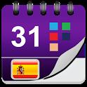 España Calendario 2018 icon
