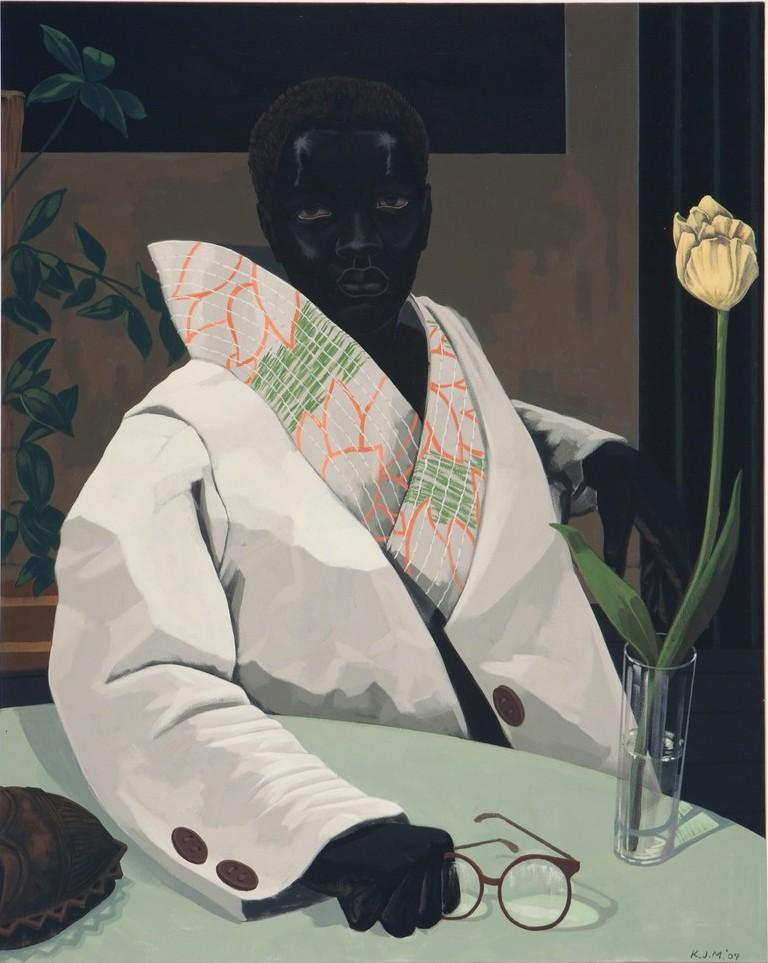 Kerry James Marshall (b. 1955)  Portrait of Curator (In Memory of Beryl Wright)