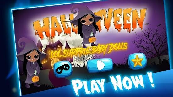 Halloween Lol Surprise Eggs baby Dolls - náhled