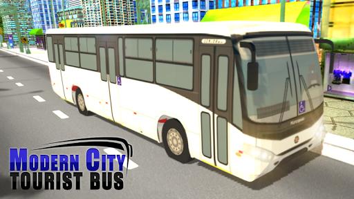 Modern City Tousrist Bus 3D