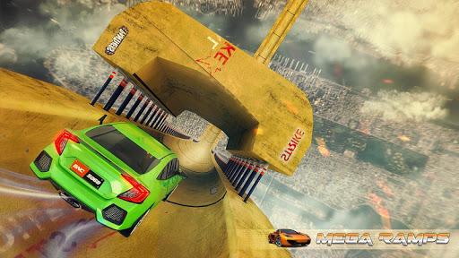 Vertical Mega Ramp Stunts Car Racing for PC