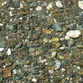 Pebbles by Halime Pelitçi - Nature Up Close Water ( water, clean water, pebbles, rocks, river )