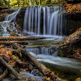 Fall Colours by Carl Chalupa - Landscapes Waterscapes ( waterfalls, fall, waterfall, water )