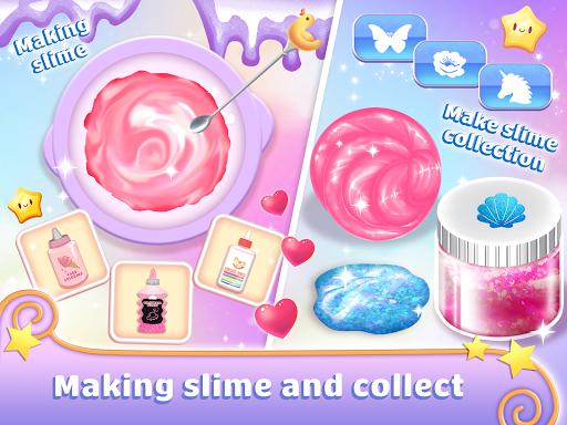 Real Slime Simulator Maker: Dress Up Girl apktram screenshots 4