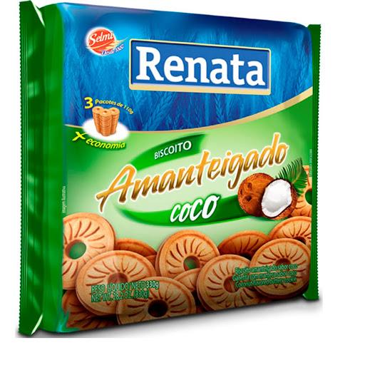 Galletas Renata Mantequilla Y Coco 330gr 3und