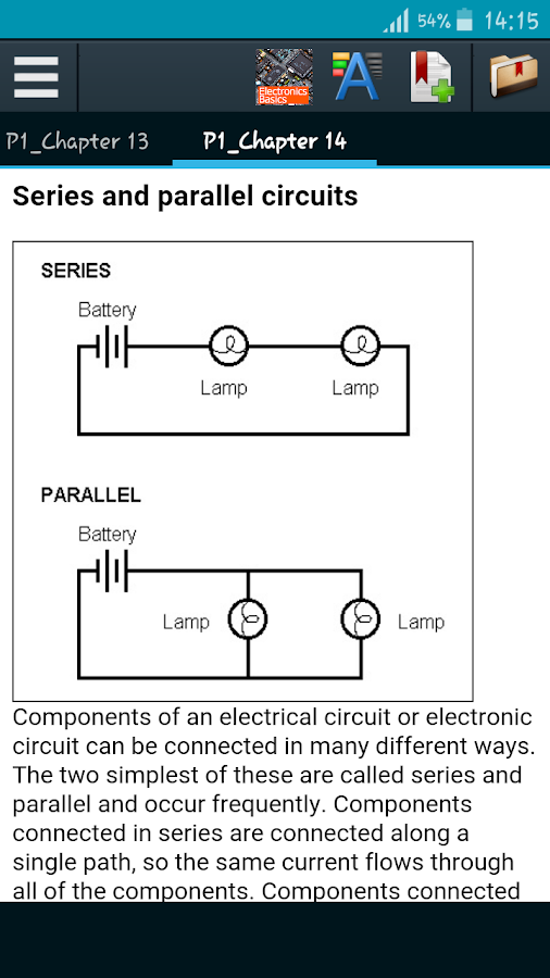 Learn Electronics Basics- screenshot