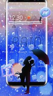 Rainy Window Drop Theme - náhled