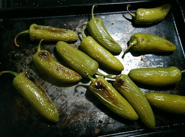 If you love heat, roast some jalapenos in the oven or on the grill....