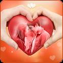 Cute Love Photo Frames icon